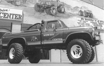 Bigfoot The Original Monster Truck Blue Oval Trucks