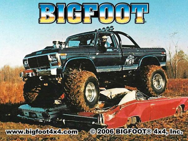 Bigfoot – The Original Monster Truck – Blue Oval Trucks