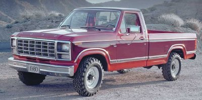 History Of The Ford F Series 1948 1999