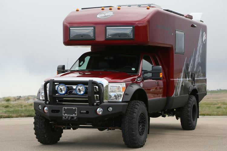 Ford F 550 Earthroamer Xpedition Vehicle Blue Oval Trucks