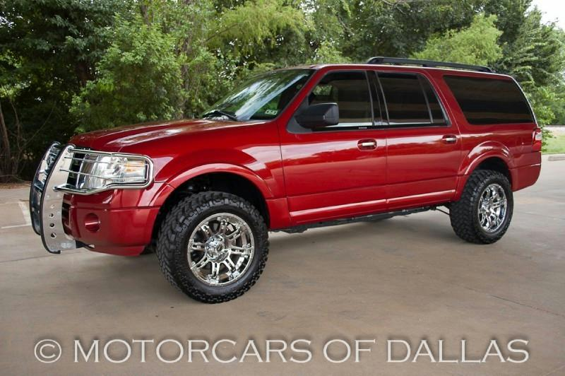 Custom Sangria Red  Ford Expedition