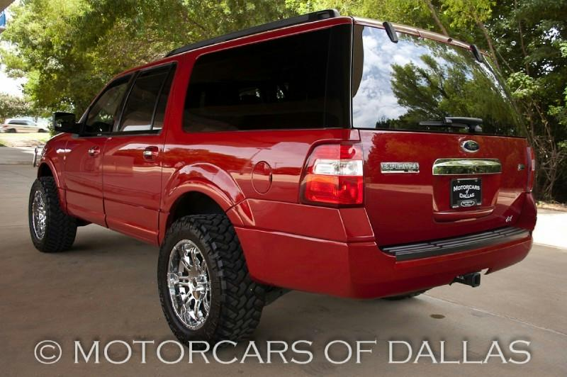Custom Sangria Red 2009 Ford Expedition – Blue Oval Trucks