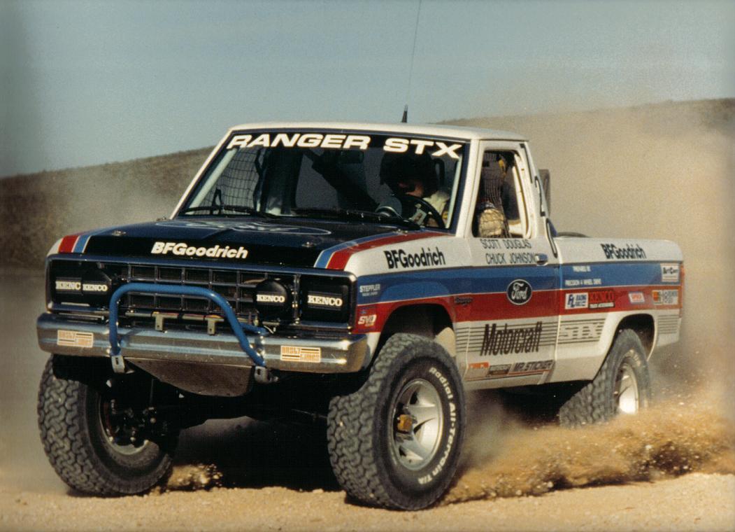 chuck johnson blue oval trucks