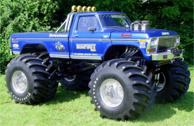 Bigfoot The Worlds Most Famous Ford Monster Truck