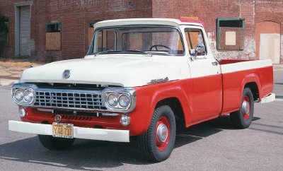 1958 ford truck engines