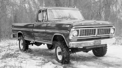 ford truck body style nicknames