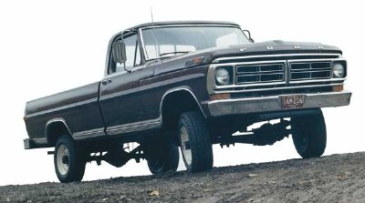 1984 ford f150 4x4 front axle