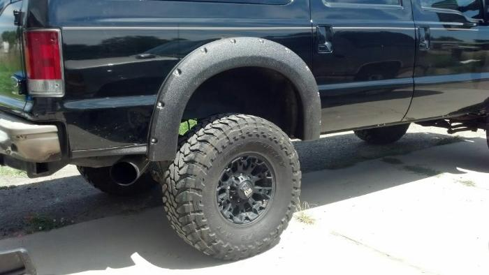 2008 2010 Super Duty Front Clip Conversion On 2004 Ford