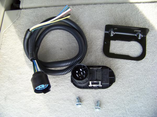 installing a 7 blade rv connector on a ford expedition blue oval there wasn t a brake controller installed and i needed a 7 blade connector so i could