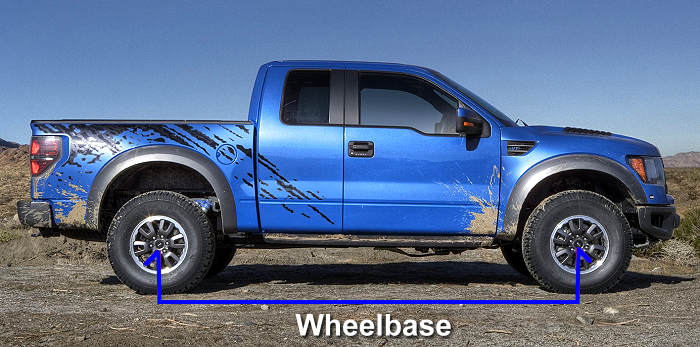 Ford Truck Van  SUV Wheelbase Chart  Blue Oval Trucks