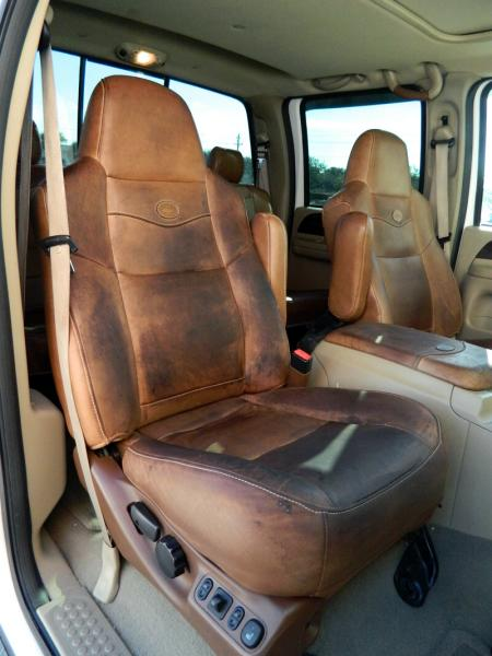 : Clean and Condition Ford King Ranch Leather – Blue Oval Trucks