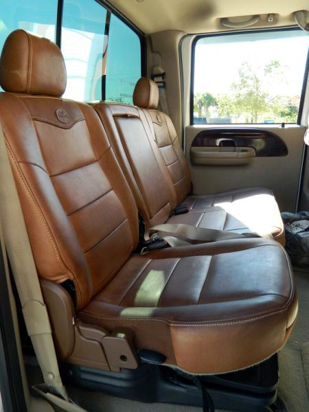 How To Clean And Condition Ford King Ranch Leather Blue Oval Trucks