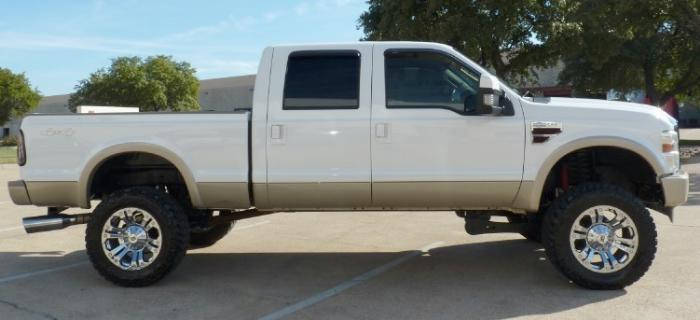 Ford Super Duty Lift Kit / Tire Size Examples – Blue Oval