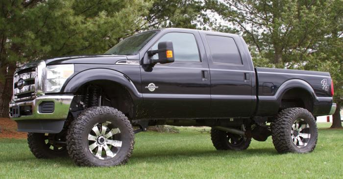 Ford Super Duty Lift Kit / Tire Size Examples – Blue Oval Trucks