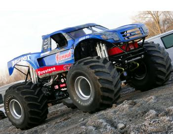 Bigfoot #18 – Desert Truck meets Monster Truck