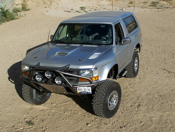 Although There Were (3) Different Front End Styles And Interior Styles With  The 1980 1996 Ford Bronco, The Body Shell Itself Was Pretty Much The Same.