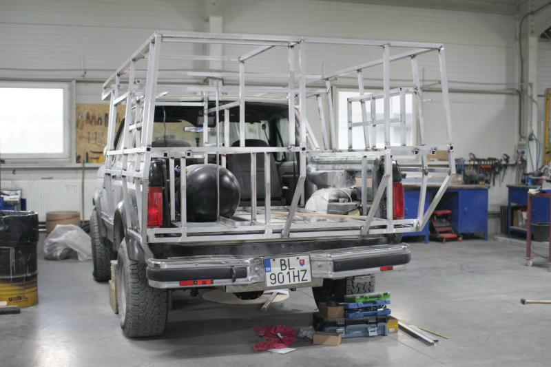 The Ford Bronco Camper Blue Oval Trucks