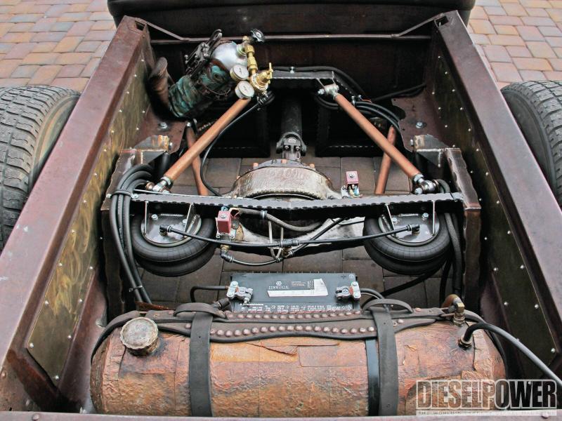 1932 Model-A Rat Rod Diesel Pickup – Blue Oval Trucks