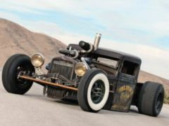 1932 Model-A Rat Rod Diesel Pickup
