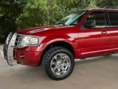 Custom Sangria Red 2009 Ford Expedition