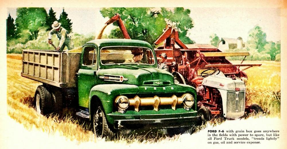 Ford Bronco Raptor >> 1950-1959 Vintage Ford Truck Ads – Blue Oval Trucks