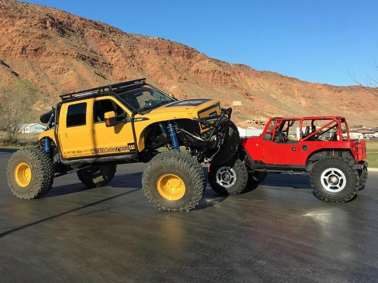 Lees Summit Jeep >> Diesel Brothers' BroDozer – Blue Oval Trucks