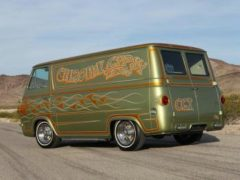 Chrome Gypsy Tattoo Custom Econoline Van