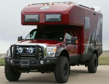 Ford F-550 EarthRoamer Xpedition Vehicle
