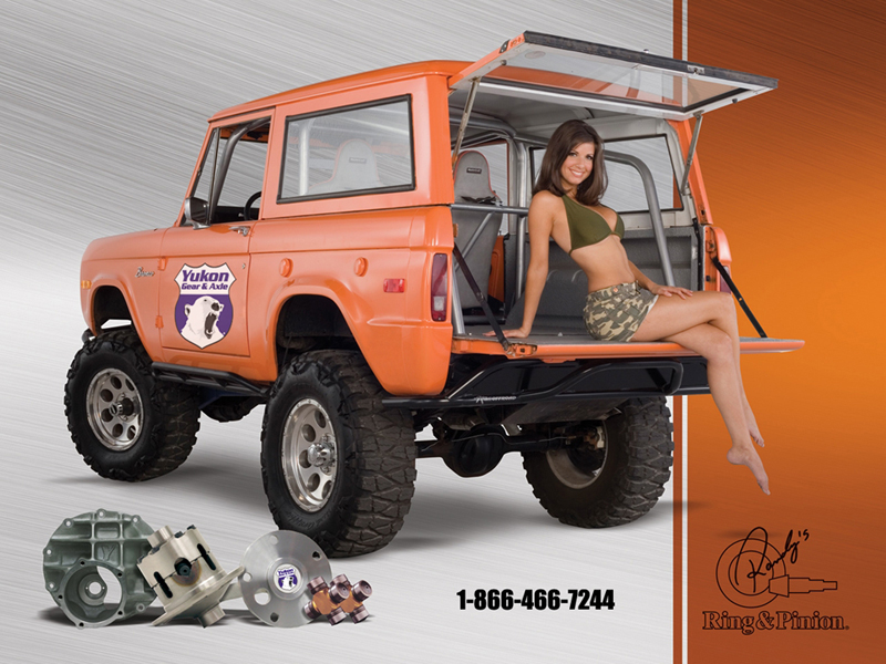 Ford Bronco Girls – Blue Oval Trucks