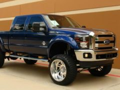 The Ultimate Blue Oval Ford F-250 Lariat Diesel 4×4