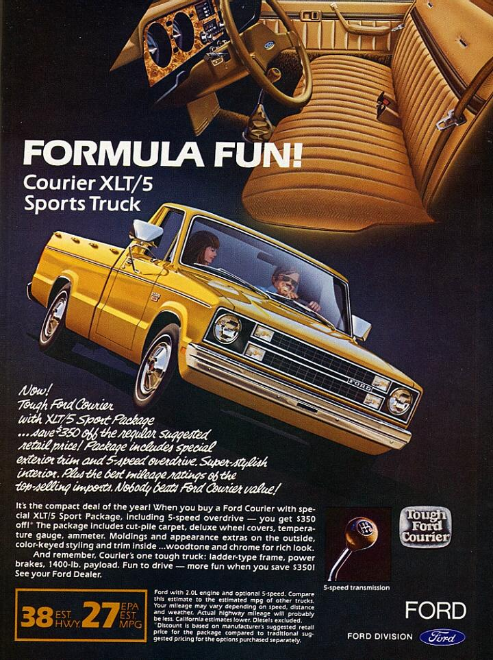History Of The Ford Courier 1972 1982 Blue Oval Trucks