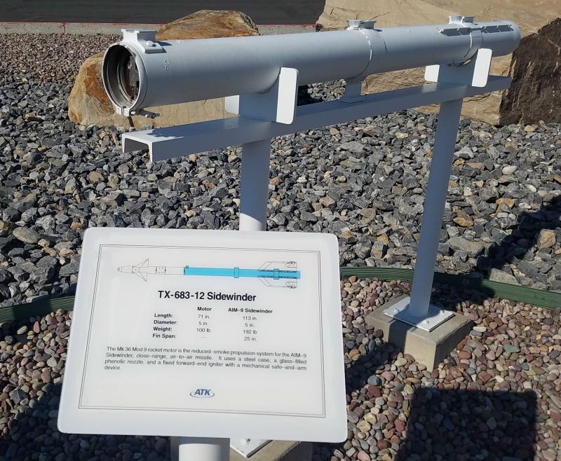 ATK Rocket Garden – Promontory, Utah – Blue Oval Trucks
