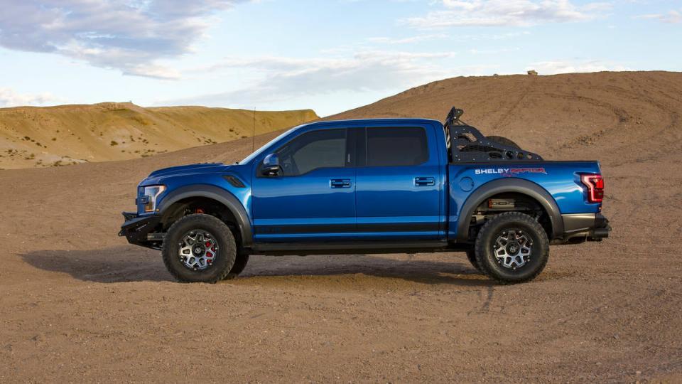 2018 Shelby Baja Raptor – Blue Oval Trucks