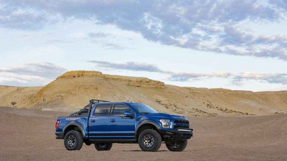 Ford F 750 Raptor >> 2018 Shelby Baja Raptor – Blue Oval Trucks