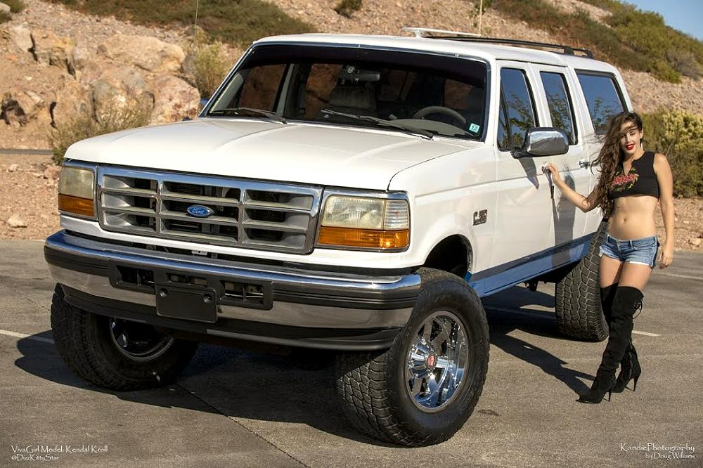1996 Ford Centurion Classic Blue Oval Trucks
