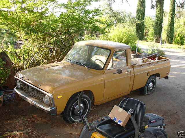 1973 Ford Courier 4×4 – Blue Oval Trucks