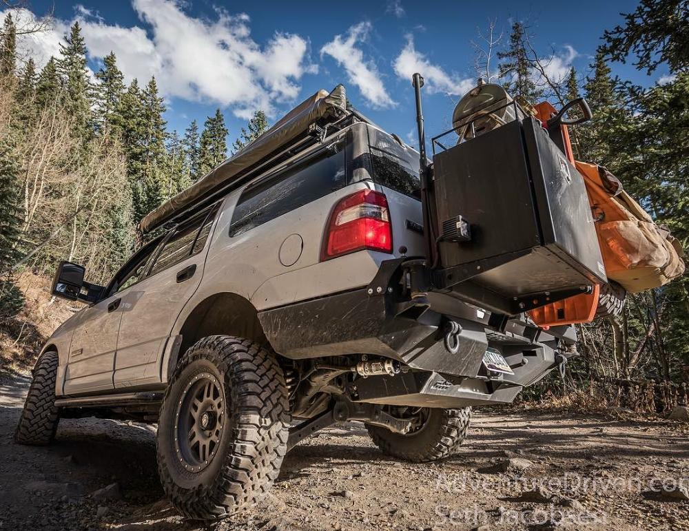 Adventure Driven Ford Expedition Blue Oval Trucks