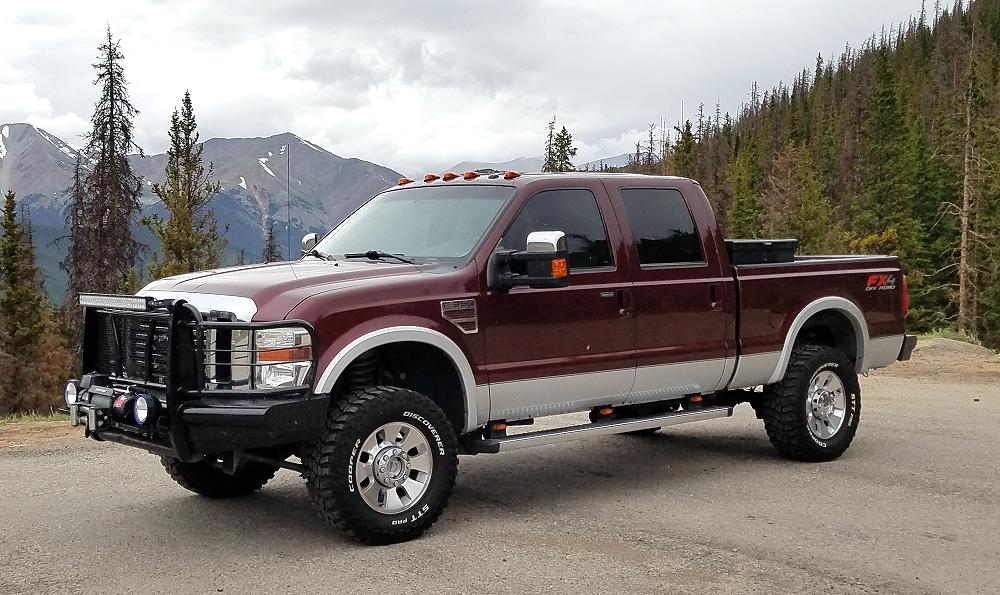 This Is My Blueovaltrucks 2010 Ford F 350 Fx4 Superduty It S A Lariat With Leather And All Of The Options Ed By 6 4l Sel