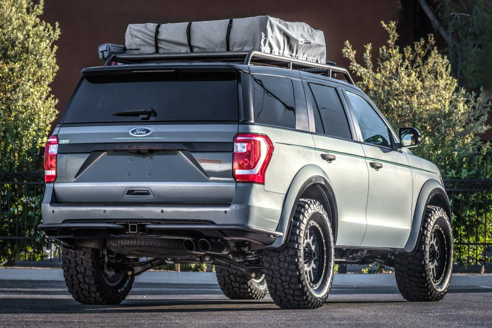 2018 Ford Expedition Adventurer Blue Oval Trucks