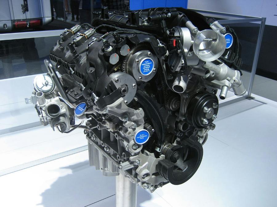 Ford 3 5l Ecoboost Engine Blue Oval Trucks