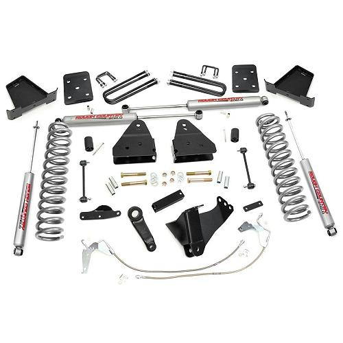 Rough Country 5 Inch Suspension Lift Kit: Rough Country 4.5-inch Lift Kit W/ N2.0 Shocks 2008-2010