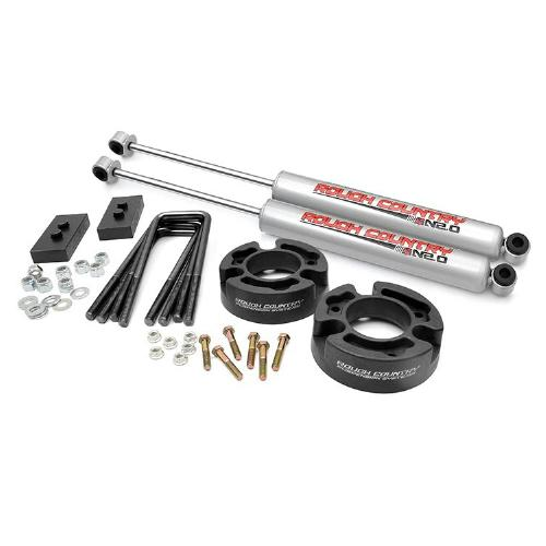 Rough Country 5 Inch Suspension Lift Kit: Rough Country 2.5-inch Leveling Kit W/ N2.0 Shocks 2004