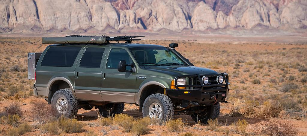 One Of The Best Examples Of A Ford Excursion Youll Ever Find For Overlanding Is This  Ford Excursionsel X Owned And Built By Chris Cordes