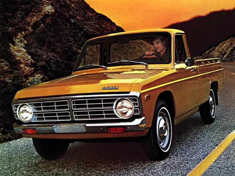 history of the ford courier 1972 1982 blue oval trucks. Black Bedroom Furniture Sets. Home Design Ideas
