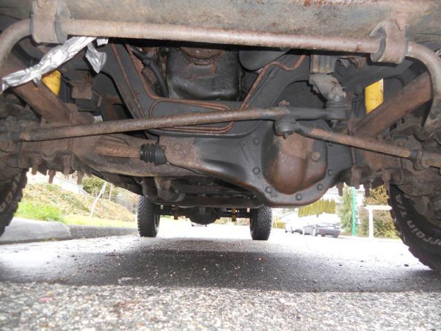 Ford Dana 50 TTB Front Axle – Blue Oval Trucks