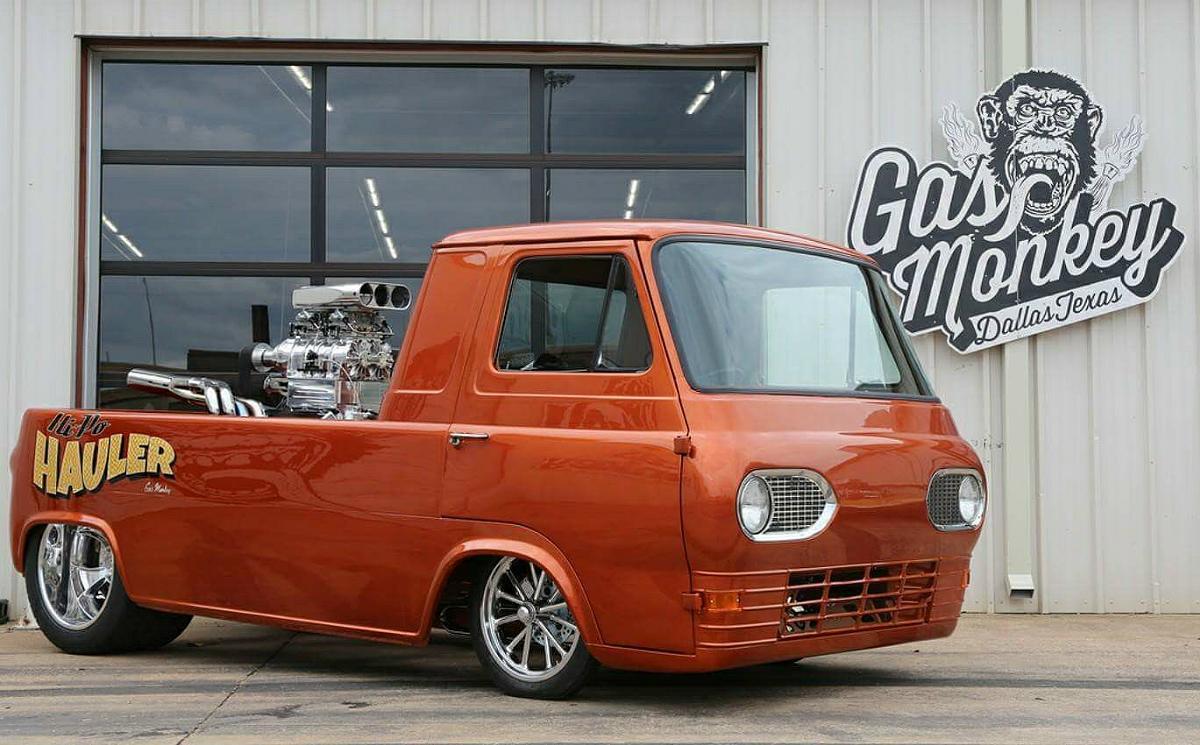 vintage ford econline pickup