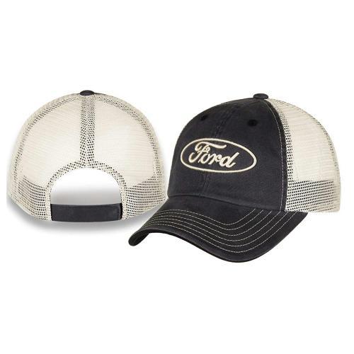 Built Ford Tough Marbled-Mesh Cap Gray